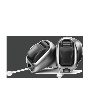 titanium hearing device